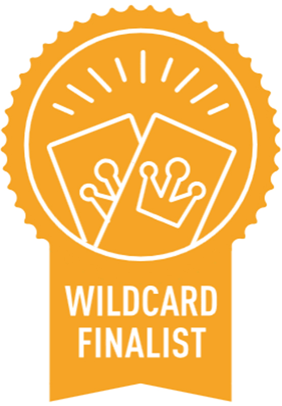Martha Stewart - American Made 2014 - Wildcard Finalist Badge