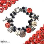 Halloween Charm Bracelet DIY Jewelry Making Project