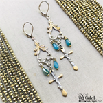 Filigree Cross Chandelier Earrings DIY Jewelry Making Project