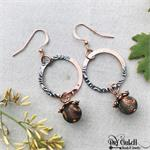 Copper Agate Earrings DIY Project
