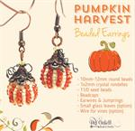 Pumpkin Harvest Earrings