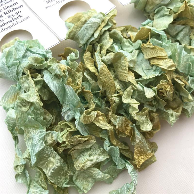 Meadowlark Vintage Seam Binding Ribbon Ruffled 5 Yards Per