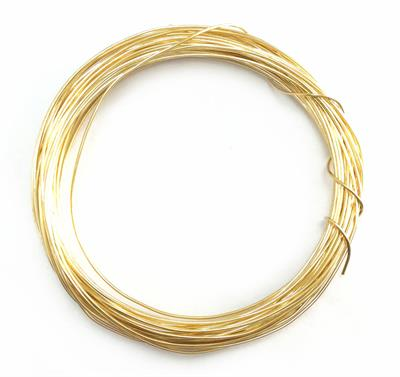 SALE 22 Gauge Dead Soft Round Jewelry Wire Solid Brass Q2 30ft Coils ...