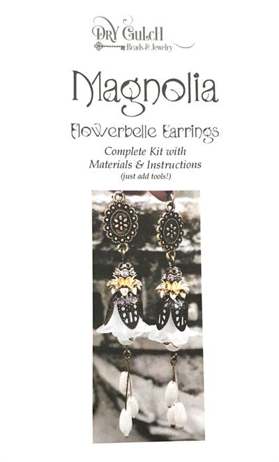 Magnolia Flowerbelle Earring Jewelry DIY Kit