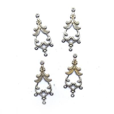 Artisan Hand Painted Filigree Chandelier Findings