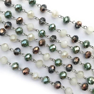 Woodland Crystal Rosary Chain