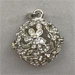 Crystal Flower Aromatherapy Pendant
