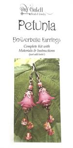 Petunia Flowerbelle Earring Jewelry DIY Kit