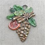 Christmas Pinecone Pendant Holiday
