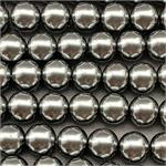 Steel 8mm Smooth Round Glass Pearls 1mm Hole per Strand