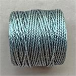 S-Lon Beading Cord Ice Blue Heavy TEX400 .9mm Nylon Thread per Spool