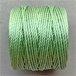 S-Lon Beading Cord Mint Heavy TEX400 .9mm Nylon Thread per Spool