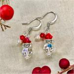 Santa Swarovski Earrings Mini Kit