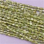 Peridot Natural Stone Small Nugget Beads