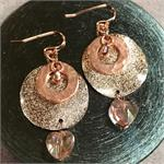 Stardust Copper Heart Earring Mini Kit