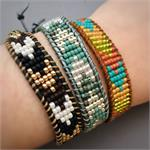 Beaded Chevron Bracelet Kit Jewelry Making DIY Project Kit