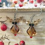 Reindeer Earrings Swarovski Earring Kit