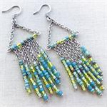 Eclectic Fringe Earrings Chandelier DIY Jewelry Making Mini Kit