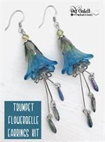 Trumpet Flowerbelle Earrings Kit DIY Jewelry Project